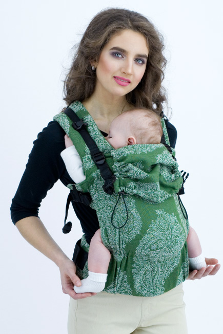 Diva Essenza Wrap Conversion Buckle Carrier: Pino Bamboo, The One!