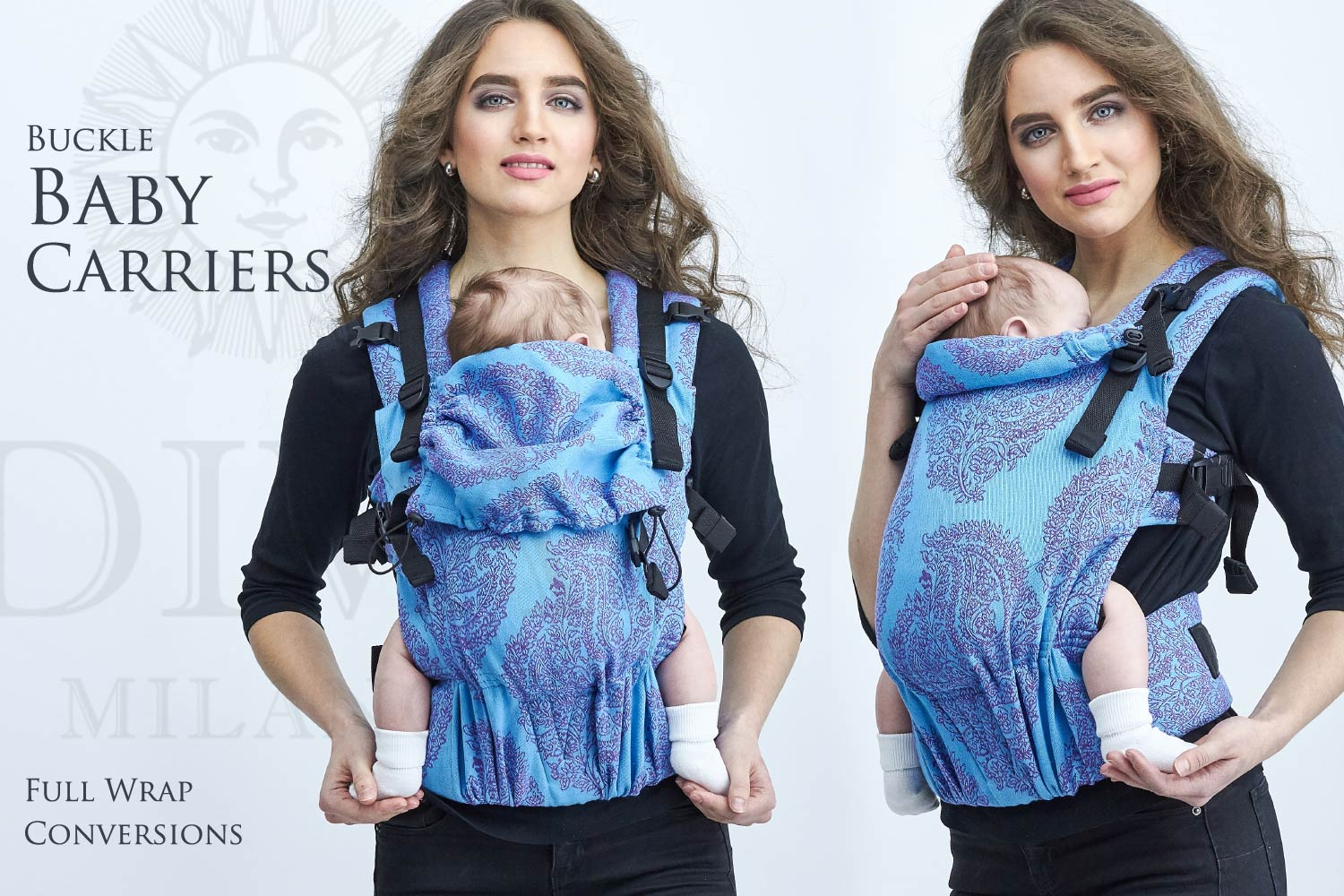 Buckle Baby Carrier - Wrap Conversion