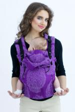 Diva Essenza Wrap Conversion Buckle Carrier: ViolaLinen, The One!