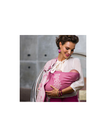 Reticella with Wool: Rosa Ring Sling