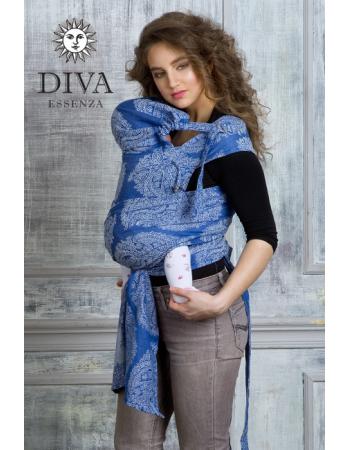 Diva Essenza Mei Tai 100% cotton: Azzurro