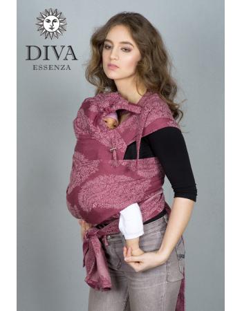 Diva Essenza Mei Tai 100% cotton: Berry
