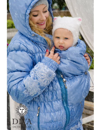 Babywearing Coat 3 in 1 (high-warm), Celeste