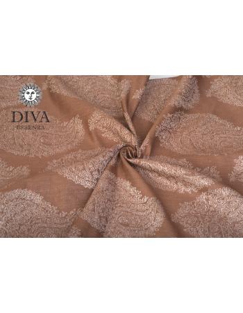 Diva Essenza Moka Linen Ring Sling