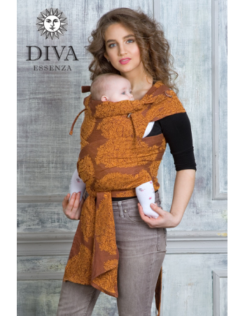 Diva Essenza Mei Tai 100% cotton: Terracotta