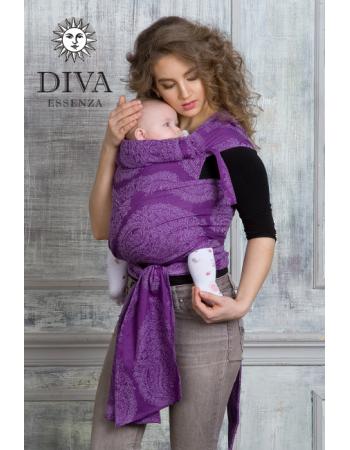 Diva Essenza Mei Tai 100% cotton: Viola