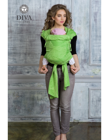 Diva Essenza Mei Tai 100% cotton: Erba