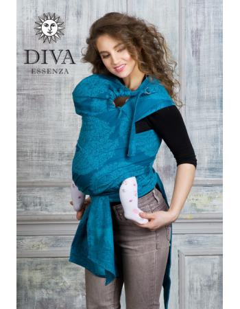 Diva Essenza Mei Tai 100% cotton: Ceruleo