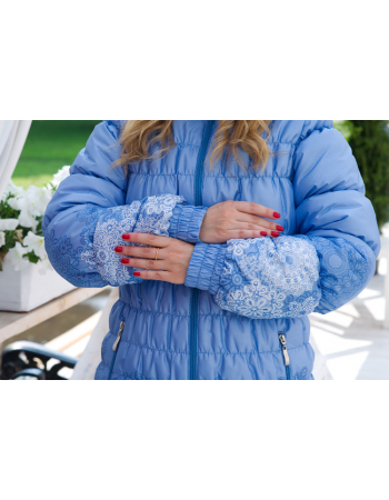 Babywearing Coat 3 in 1 (high-warm), CelesteBabywearing Winter Coat 3 in 1, Nero