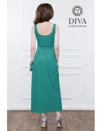 Nursing Dress Diva Nursingwear Alba, Celeste