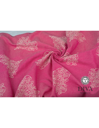 Diva Basico Mei Tai 100% cotton with a hood: Amore
