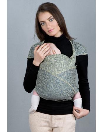 Diva Basico Mei Tai 100% cotton: Damasco