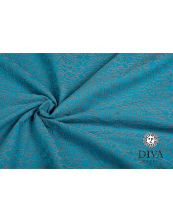 Diva Basico Mei Tai 100% cotton with a hood: Lago