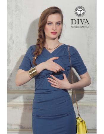 Nursing Dress Diva Nursingwear Lucia, Notte