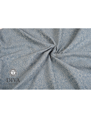 Diva Basico 100% cotton: Argento Ring Sling