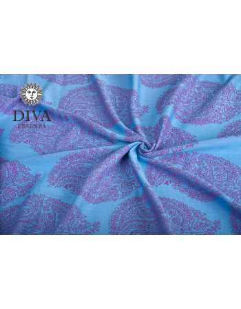Diva Toddler Mei Tai 100% cotton: Celeste