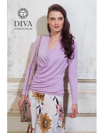 Nursing Top Diva Nursingwear Denila, Lavanda