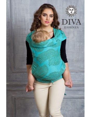 Diva Toddler Mei Tai 100% cotton: Menta