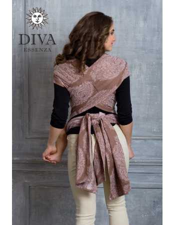 Diva Toddler Mei Tai 100% cotton: Moka