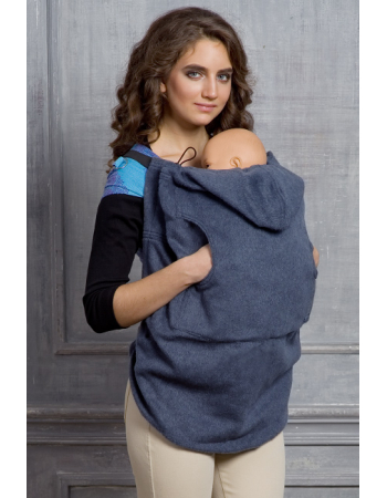 Wool Babywearing Cover, Notte