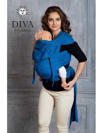 Diva Toddler Mei Tai 100% cotton: Oltremare