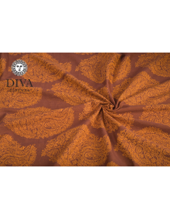 Diva Toddler Mei Tai 100% cotton: Terracotta