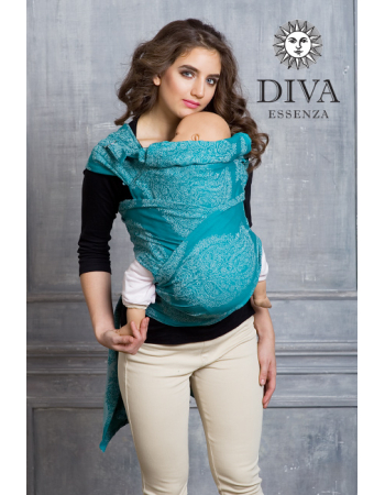Diva Toddler Mei Tai 100% cotton: Smeraldo