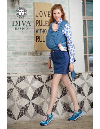 Diva Basico 100% cotton: Zaffiro