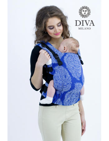 Diva Essenza Wrap Conversion Buckle Carrier: Azzurro, The One!