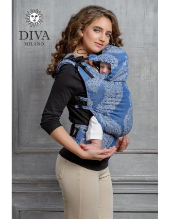Diva Essenza Wrap Conversion Buckle Carrier: Azzurro