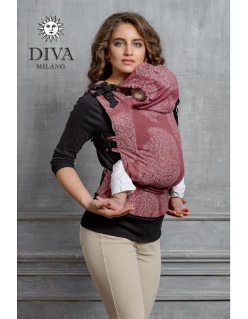 Diva Essenza Wrap Conversion Buckle Carrier: Berry