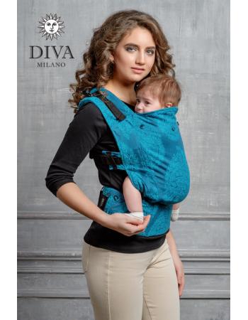 Diva Essenza Wrap Conversion Buckle Carrier: Ceruleo