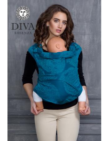 Diva Toddler Mei Tai 100% cotton: Ceruleo