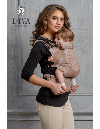 Diva Essenza Wrap Conversion Buckle Carrier: Moka