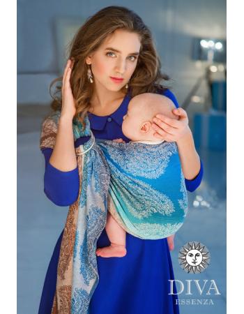 Diva Essenza 100% cotton: Oceano Ring Sling