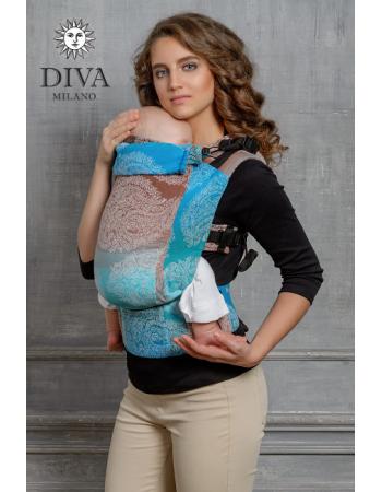 Diva Essenza Wrap Conversion Buckle Carrier: Oceano