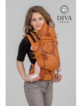 Diva Essenza Wrap Conversion Buckle Carrier: Terracotta