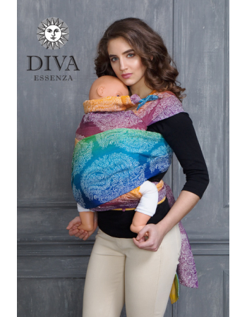 Diva Toddler Mei Tai 100% cotton: Tropico