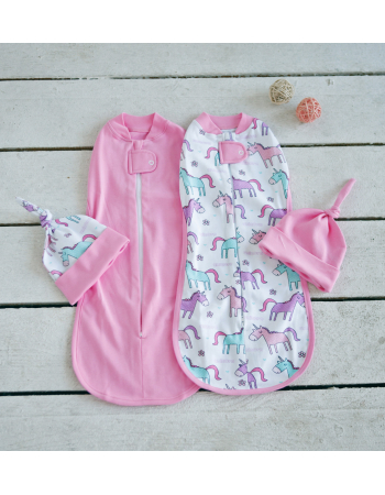 Swaddle Pods Set, Unicorn