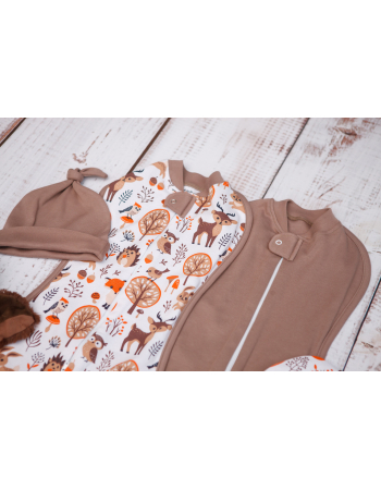 Swaddle Pods Set, Forest Animals (Warm)