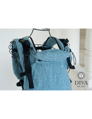 Diva Basico Wrap Conversion Buckle Carrier: Basico Luna, The One!