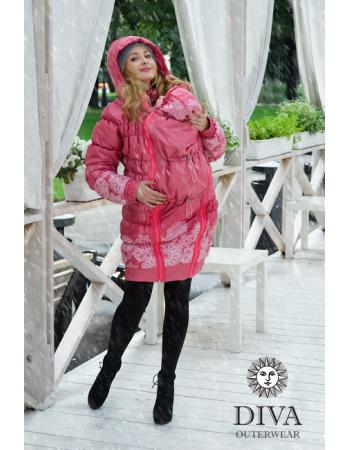 Babywearing Coat 3 in 1 (high-warm), Corallo