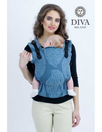 Diva Essenza Wrap Conversion Buckle Carrier: Eclipse Linen, The One!