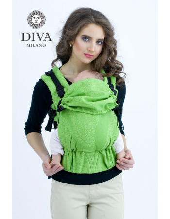 Diva Essenza Wrap Conversion Buckle Carrier: Erba, The One!