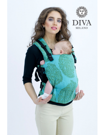 Diva Essenza Wrap Conversion Buckle Carrier: Menta Bamboo, The One!