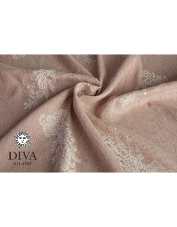 Diva Milano LE Wrap Conversion Buckle Carrier: Reticella Miele Linen