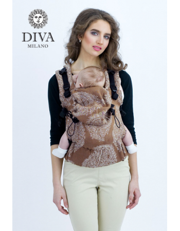 Diva Essenza Wrap Conversion Buckle Carrier: Moka Linen, The One!