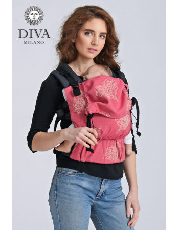 Diva Half Wrap Conversion Buckle Carrier: Amore, The One!