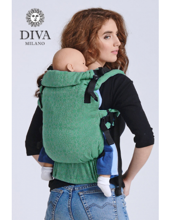 Diva Basico Wrap Conversion Buckle Carrier: Basico Aloe, The One!