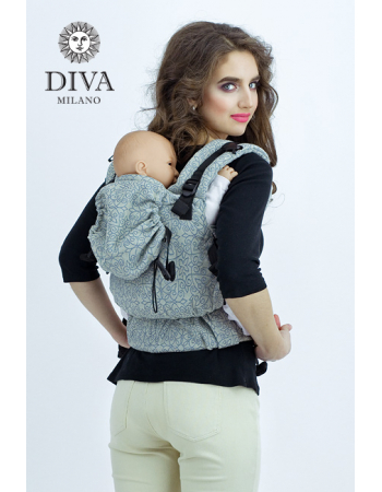 Diva Basico Wrap Conversion Buckle Carrier: Argento, The One!